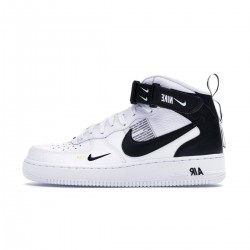 NIKE AIR FORCE MID '07 LV8 WHITE SHOES