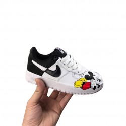 Nike Air Force 1 Mickey Negras
