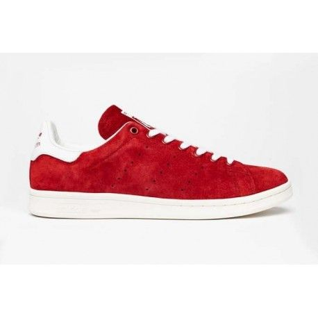 zapatillas adidas rojas stan smith